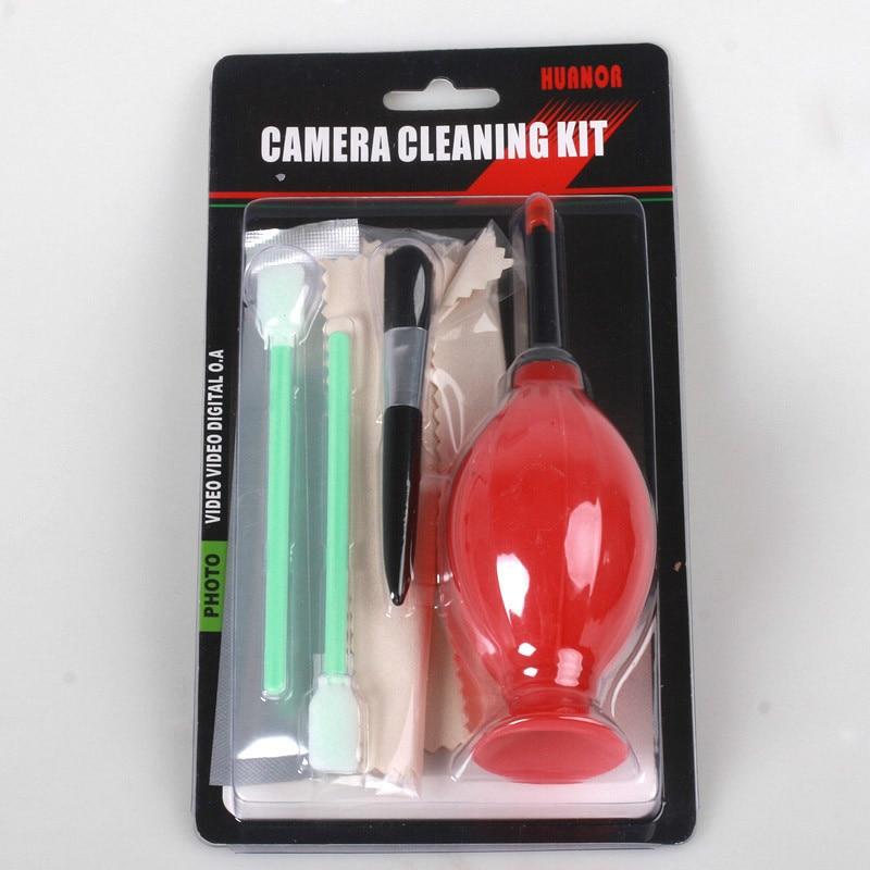 6 piezas Kit de limpieza Sensor de la Cámara 5D2 5D3 60D D3200 D3100 X10 X20 X100 XM1 XE1 XA1CCD y comunicaciones DC DV DSLR SLR lente filtro UV