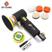 Pneumatische Polieren Schleifen Maschine 2 zoll 3 zoll Mini Orbital Air Sander Luft Werkzeuge Buffer Dual Action Orbital Polierer für auto