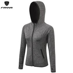Jaqueta de corrida feminina com zíper, casaco fitness de manga comprida para academia yoga