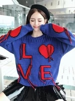 jumper promotion direct selling acrylic casual o neck sweaters 2018 women loose sets of tassels letters lazy sweater pullover