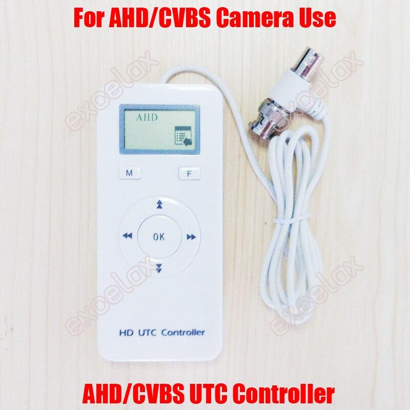 2 en 1 AHD CVBS analógica HD CCTV Cámara controlador UTC hasta el Coax Control remoto Video vigilancia BNC Coaxial Cable OSD menú