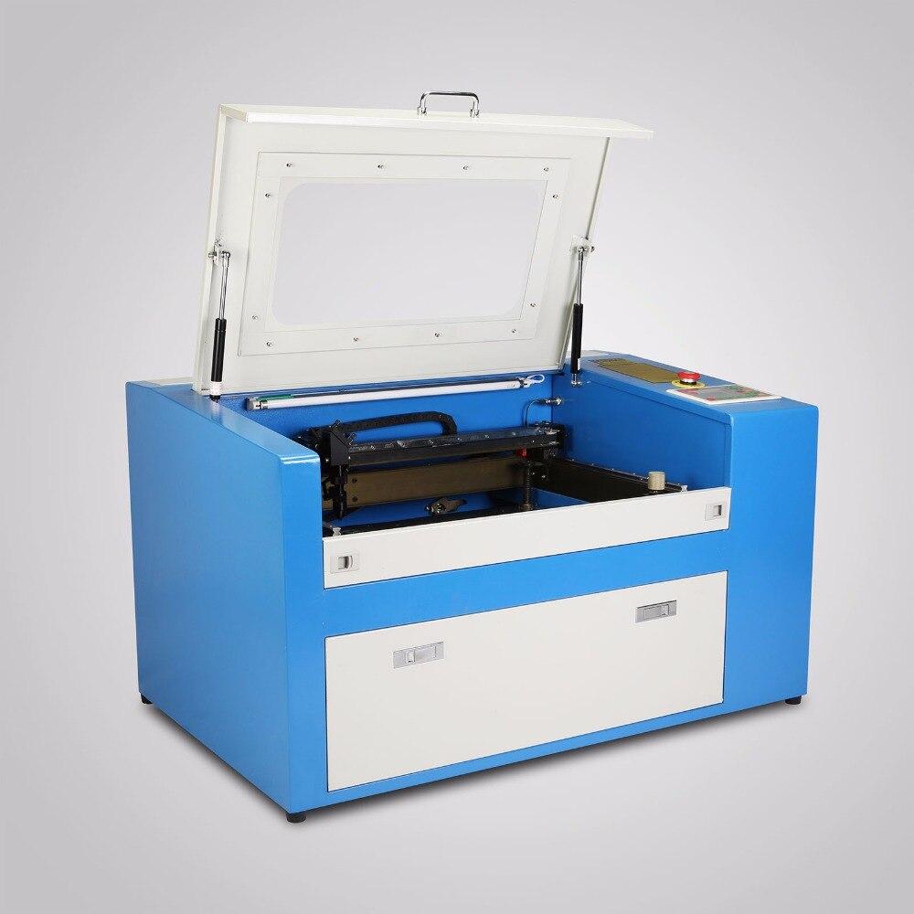 Máquina cortadora de grabado láser CO2 50 W, fácil de usar, cortador de grabado con puerto USB