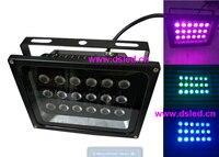 CEIP65DMX Compitable54W outdoor RGB LED spotlightLED floodlight18X3W RGB 3in124VDCDS-TN-05-54W
