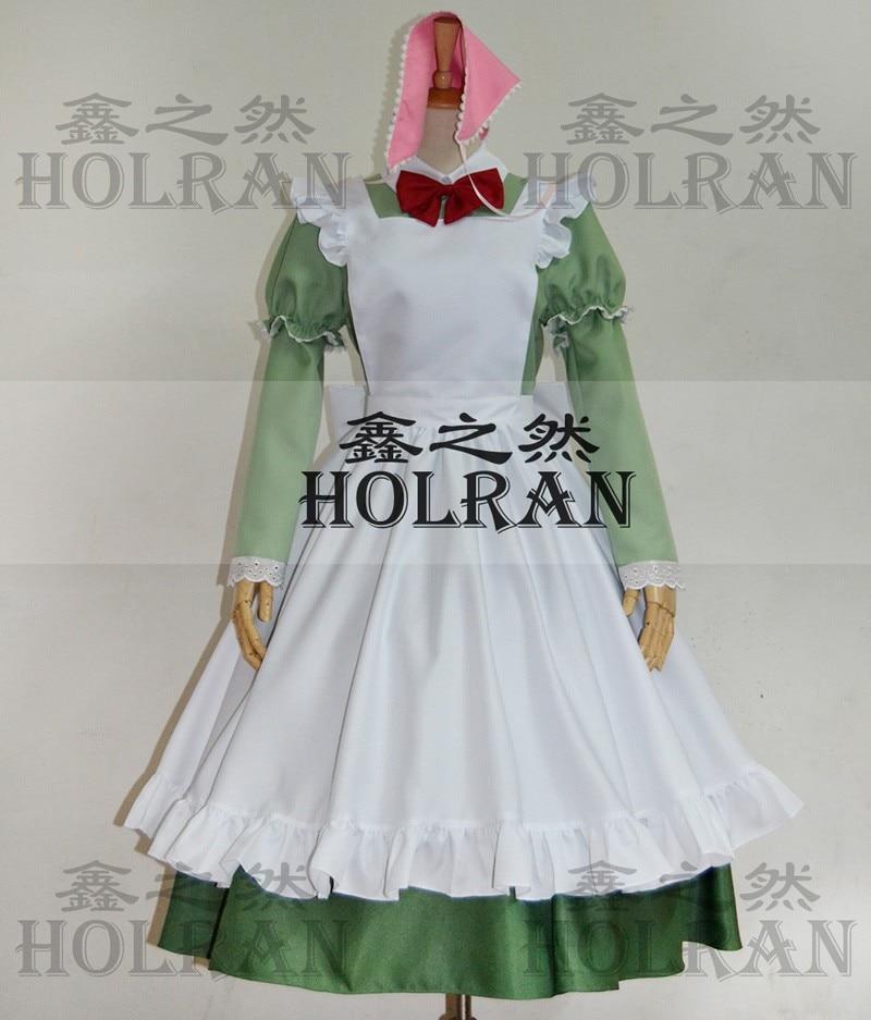 Индивидуальный APH Axis Powers Hetalia Maid Hungary lolita Косплей Костюм