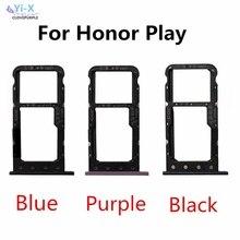 Pour Huawei Honor jouer plateau de carte SIM Micro SD porte-carte adaptateur de fente pièces