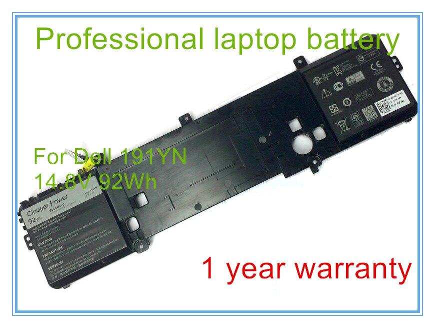New Original Genuine Battery for 15 R1 92Wh 14.8V TYPE 191YN 2F3W1