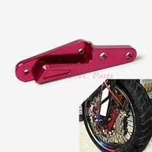 NICECNC 320 MM Bremssattel Halterung Adapter Für Honda CR125R/E CR250R/E 04-08 CRF250R CRF450R 04-14 CRF450X 04-15 CRF250X 04-12