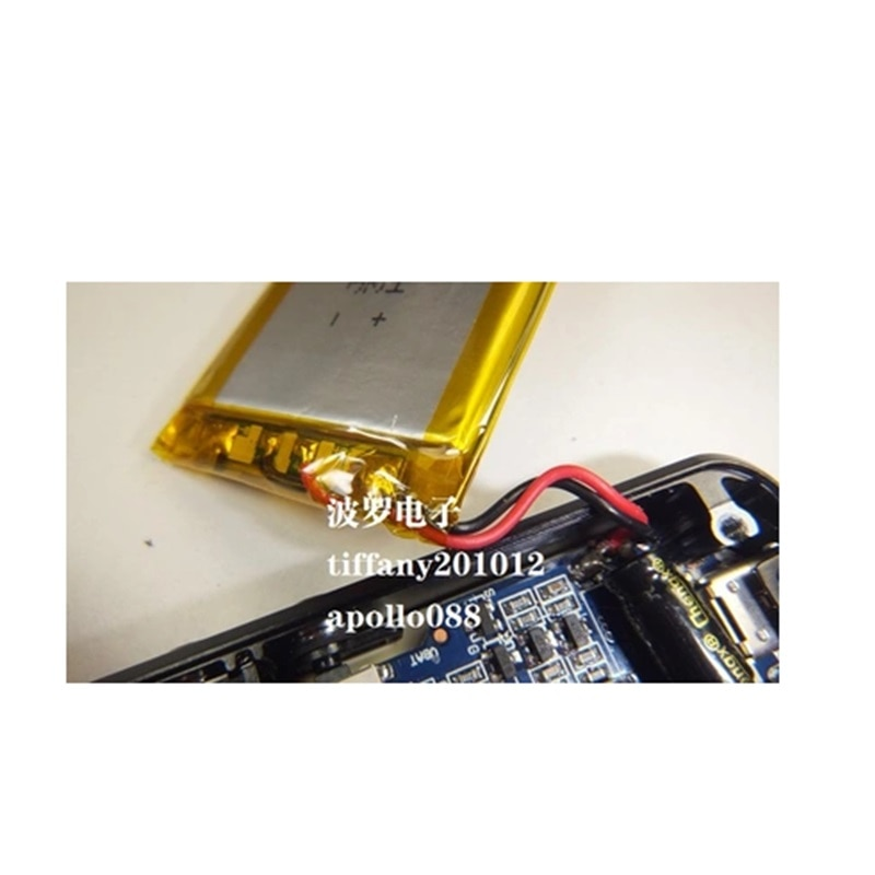 Batería Para Fiio E07K amplificador de auriculares nuevo li-po polímero recargable acumulador Paquete de reemplazo 3,7 V 1200mAh código de seguimiento