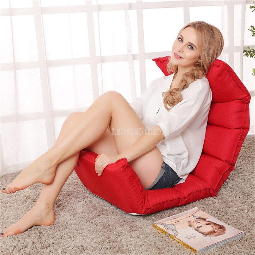 Piso plegable moderno Chaise Lounge silla muebles de sala de estilo japonés interior reclinable tumbona sofá cama