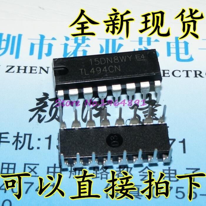10 шт./лот TL494CN TL494C TL494 DIP-16 в наличии