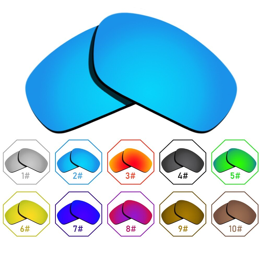 Polarized Replacement Lenses for Jawbone Frame - Many Colors Anti-reflective Anti-water Anti-scratch