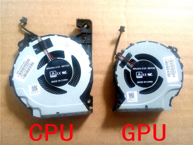 L20334-001 L20335-001 novo cpu gpu ventilador de refrigeração para hp pavilion 15-cx0058wm 15-cx dfs481305mc0t fkka dfs501105pr0t fkk9 TPN-C133