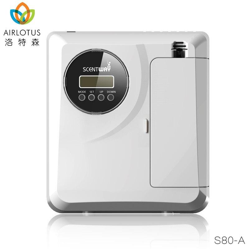 Máquina de purificación de aire de difusor de Aroma eléctrico para el hogar equipo purificador de fragancia de aerosol esencial de vestíbulo