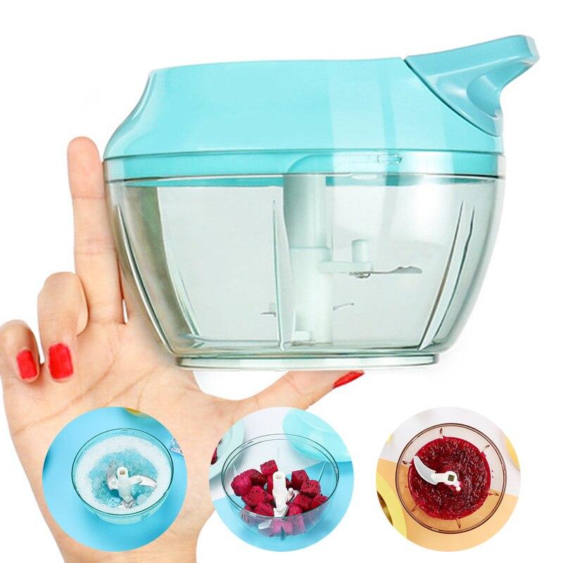 Picadora de verduras Manual multifuncional de mano rápida verduras de ajo frutas cubitos de hielo rebanadoras