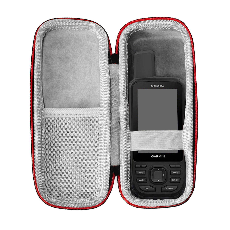 Nueva funda protectora de bolsa de transporte portátil duro EVA para Garmin GPSMap 62 64 62st 64st 63 63sc 63st 66s 66st Accesorios