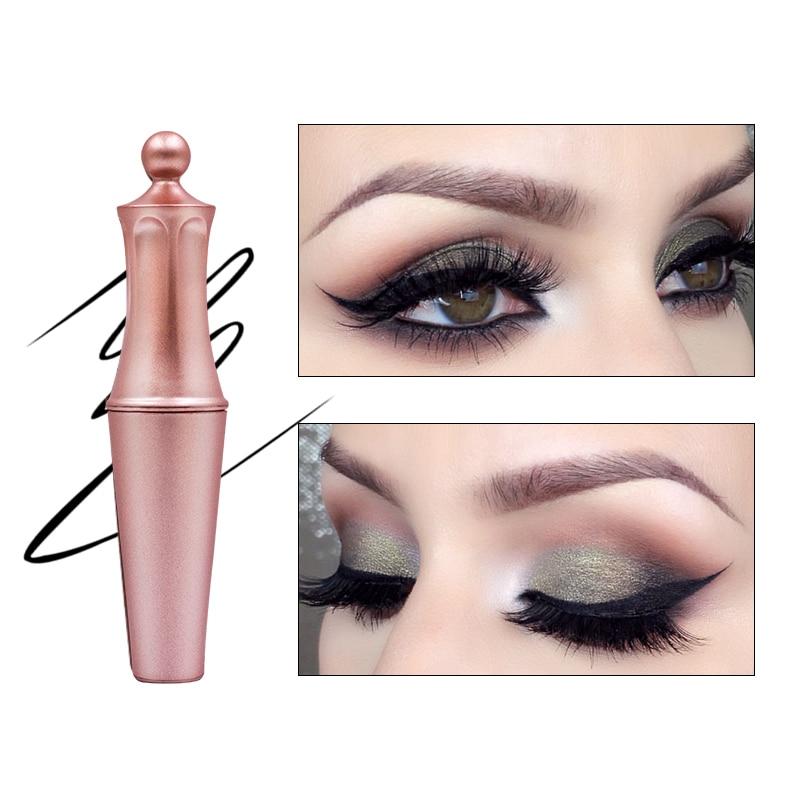Magnetic Liquid Eyeliner for Magnetic False Eyelashes Waterproof Eye Liner Rose Gold Makeup Easy To Wear Quick Dry