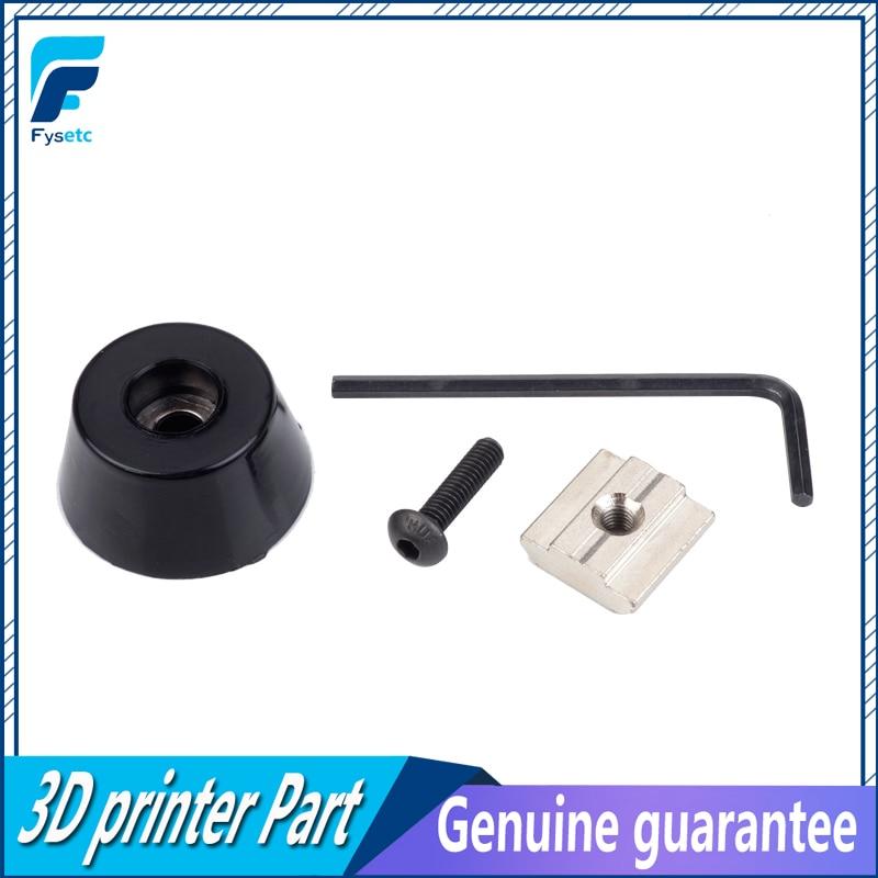4 Sets Antivibration Feet For Prusa i3 MK3 Kit 3d Printer Parts Anti-vibration Rubber Landing Mat Feet For 3030 Profile