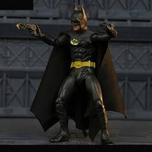 "6 ""neca Batman film TV 1989 maske süper kahraman Michael Keaton 25th alien PVC Action Figure koleksiyon model oyuncak"