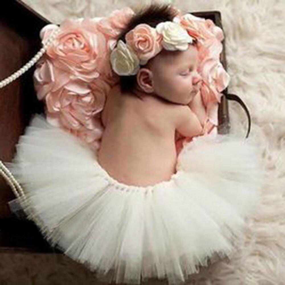 Accesorios de fotografía recién nacido, niña, Princesa, bebé, Burbuja, diadema falda tutú, trajes de traje infantil, conjuntos de traje de bebé, accesorios de fotografía