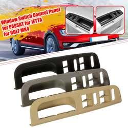 Серый/черный/бежевый переключатель окна автомобиля, панель управления, отделка, ободок для VW/Passat для Jetta/Golf/MK4 1998-2004 3B1867171E