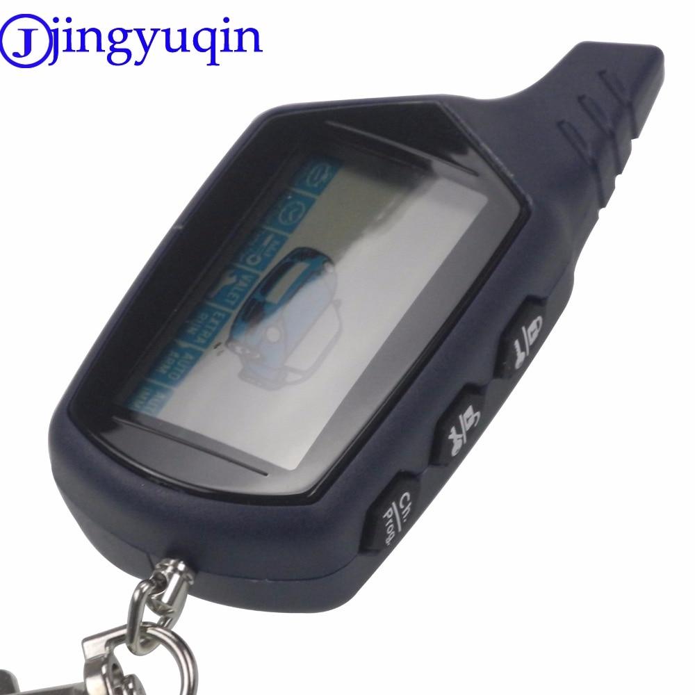 ¡Oferta! Mando a distancia Starlionr B9 Starline LCD para alarma de coche de dos vías Starline B9 Twage llavero versión rusa