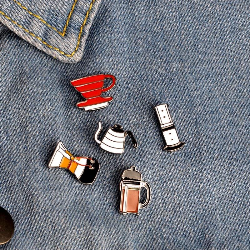 Я люблю кофе! Чаша с фильтром Chemex, кофейная эмалированная Кепка, сумка для рубашки, подарок для любителей кофе