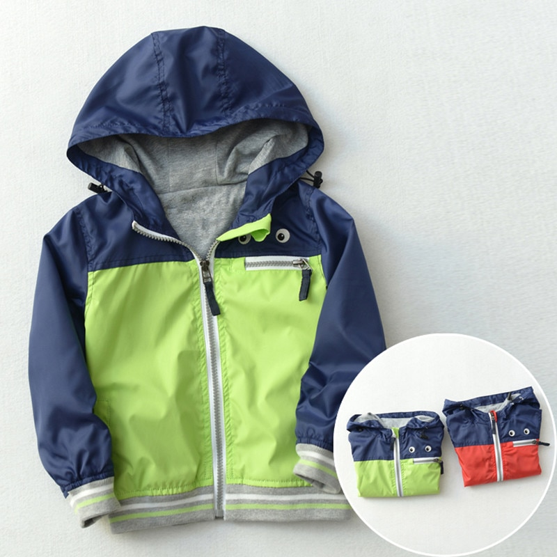 Abrigo de otoño para bebé, chaqueta para niño, rompevientos, chaqueta para niño,...