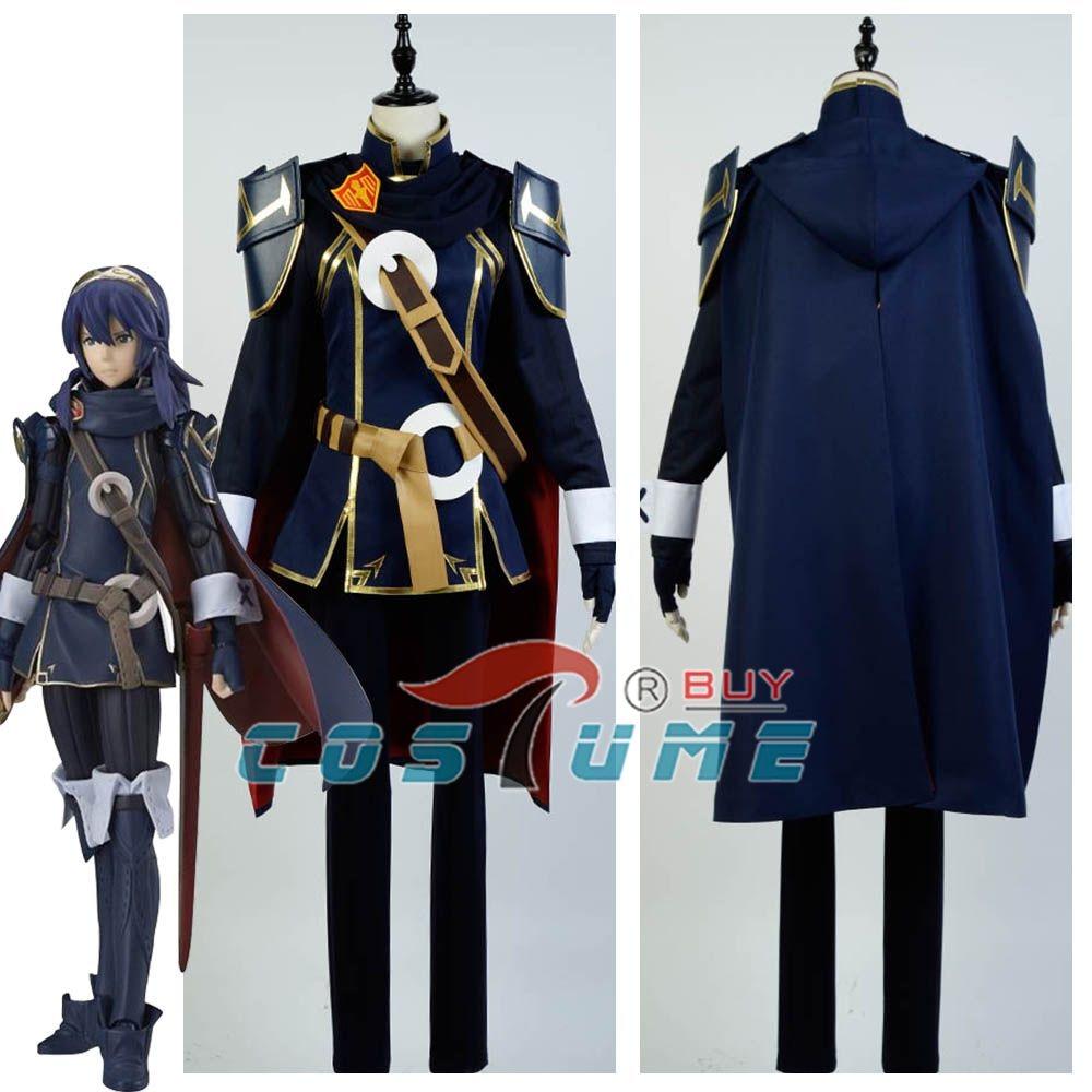 2016 Anime Fire Emblem Awakening Lucina Cosplay Costume Battleframe Custom Made