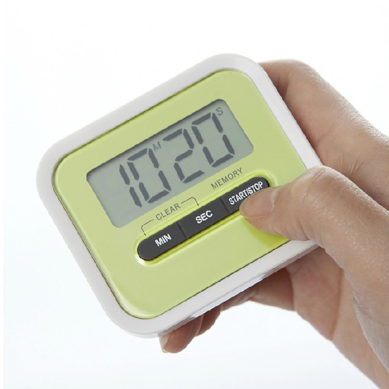 Practical Lovely big screen electronic timer electronic countdown reminder for kitchen gadgets bakin