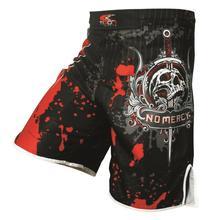 Malle de crâne fitness entraînement tigre Muay Thai MMA shorts boxe sanda MMA pantalon short de boxe pas cher Jujitsu kickboxing short