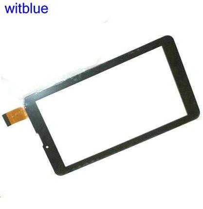 """Witblue Novo Para 7 """"polegadas Tablet kingvina-018 painel touch screen Digitador Sensor de Vidro Substituição Frete Grátis"""