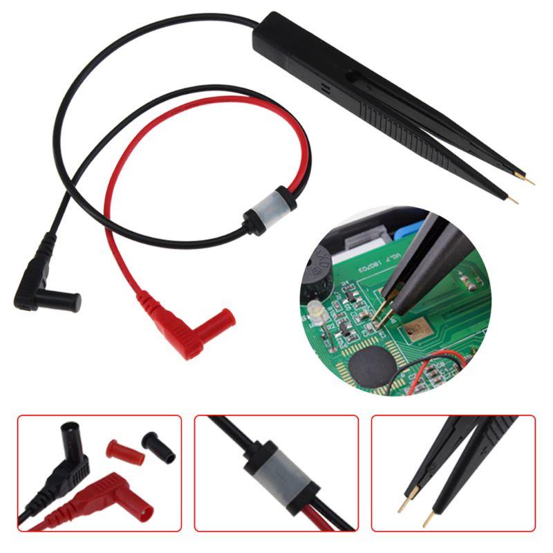 Inductor SMD, medidor de prueba, pinza de sonda, pinzas para condensador multímetro de resistencia