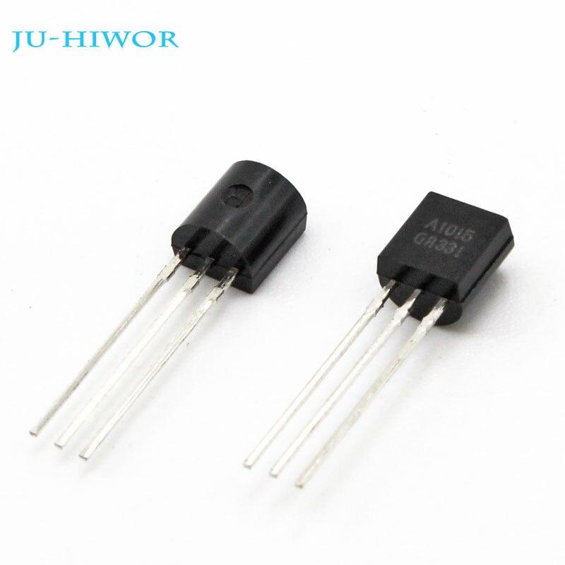 200 pièces Transistors TO-92 A1015 1015 Transistor PNP 0.15A 50V