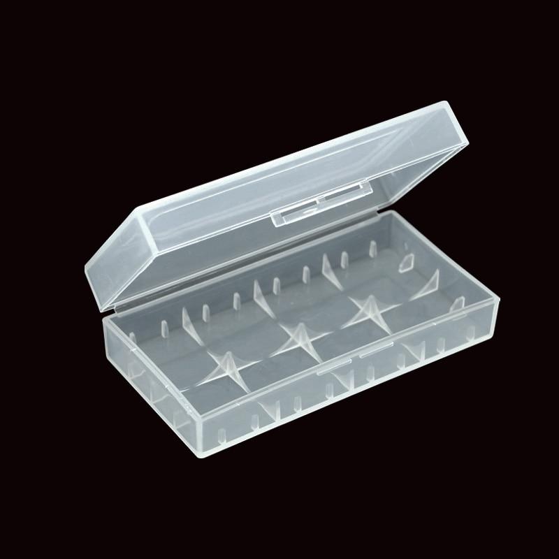 100pcs/lot wholesale Battery Box Holder Case 18650 CR123A 16340 Battery High Quality PVC Plastic Material