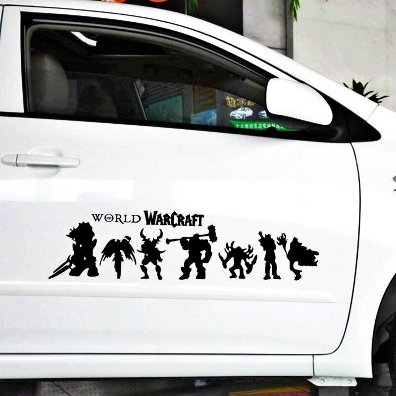 Pegatina de vinilo volkays con estilo de coche World of Warcraft Hero tribal, pegatina reflectante para Volvo inteligente Xc90 S60 S80 S40 V50 Xc70 V40