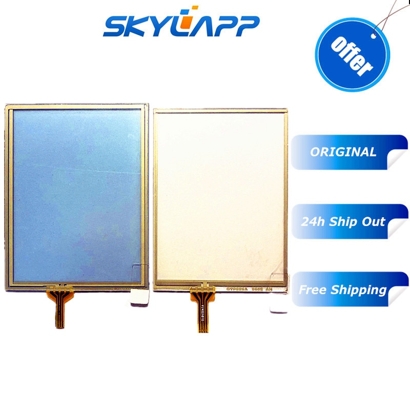 "Original 3,5 ""pulgadas colector de datos pantalla táctil para intertec CK3R CK3X PDA Panel de pantalla táctil digitalizador de vidrio de reparación de repuesto"