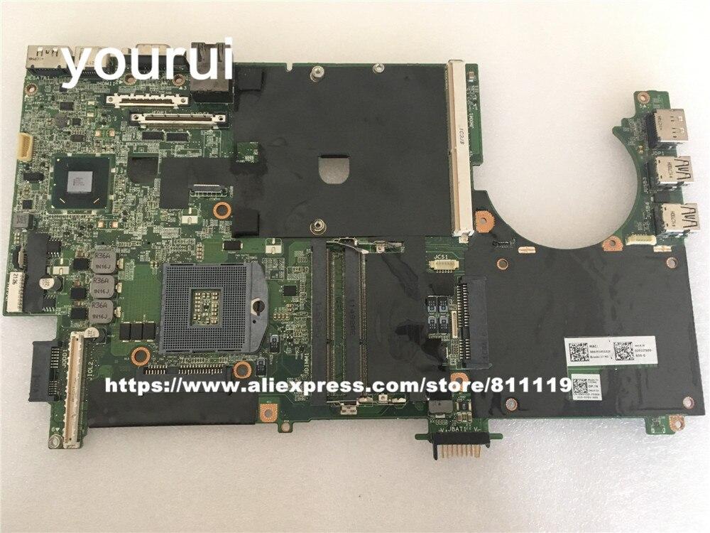 Yourui Para dell m6600 Originais motherboard CN-0NVY5D 0NVY5D NVY5D ddr3