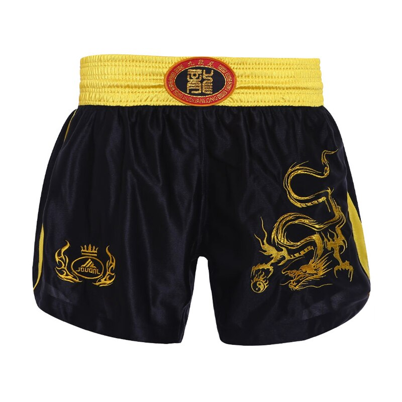 JDUanL Dragon Kids Adults Boxing Trunks MMA Muay Thai Shorts Martial Arts Wushu Sanda Sparring Boxer Fight Clothing DEO