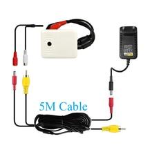 CCTV Hoge Gevoelige Microfoon Kits Surveillance Audio Pick Up Apparaat 5M Accessoires Set Voor Security Camera DVR NVR Systeem