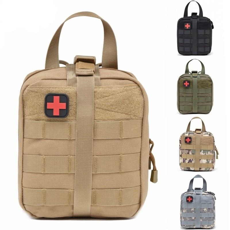 CQC 1000D Molle táctico militar médico bolsa de primeros auxilios EMT EDC herramienta riñonera bolsa de supervivencia de caza al aire libre