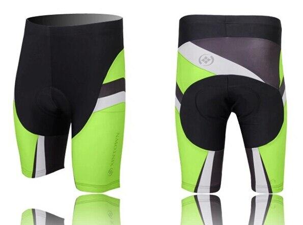Nueva ropa de ciclismo para hombre, pantalones cortos acolchados de silicona 3D para bicicleta, pantalones S-4XL CC0187