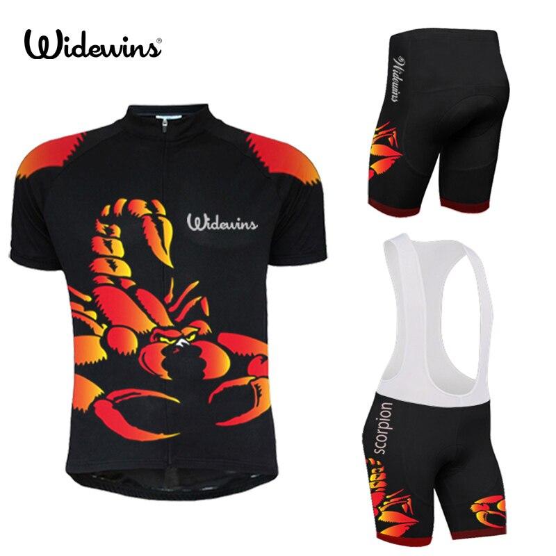 Escorpión respirable camisetas de verano Mtb ropa de Ciclismo bicicleta shorts Maillot Ciclismo ropa deportiva bicicleta ropa 5112