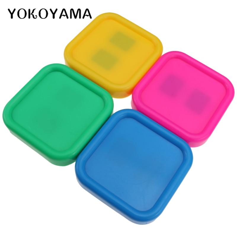 YOKOYAMA, 4 colores, caja magnética para agujas de coser, alfileres de almacenamiento, caja, herramienta para tejer para costura DIY, punto de cruz, costura fácil