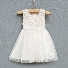 Girls princess dress,children vest dress,babys summer dress,a-line,sleeveless,lace flowers,bow,0-6 yrs,6 pcs/lot,wholesale,0290