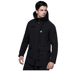 Recém alpha N-3B softshell trench coat men softshell jaqueta preto od