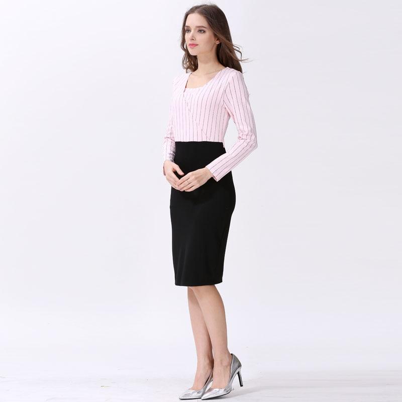 Emotion Moms Maternity Clothes Pregnancy Dress Breastfeeding Dresses for Pregnant Women Fashion Spring Autumn Dress enlarge