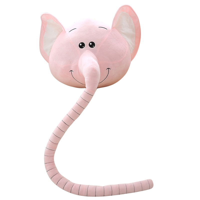 Bonito elefante, animales de juguete, elefante de nariz larga, compañía para niños, juguete de felpa confortable, muñeco de animales del bosque