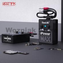 QIANLI alimentation iPowerMAX câble de test pour iPhone XS MAX X 8G 8P X 7G 7P 6S 6SP 6G 6P ligne de test de fil de contrôle dalimentation cc iPower