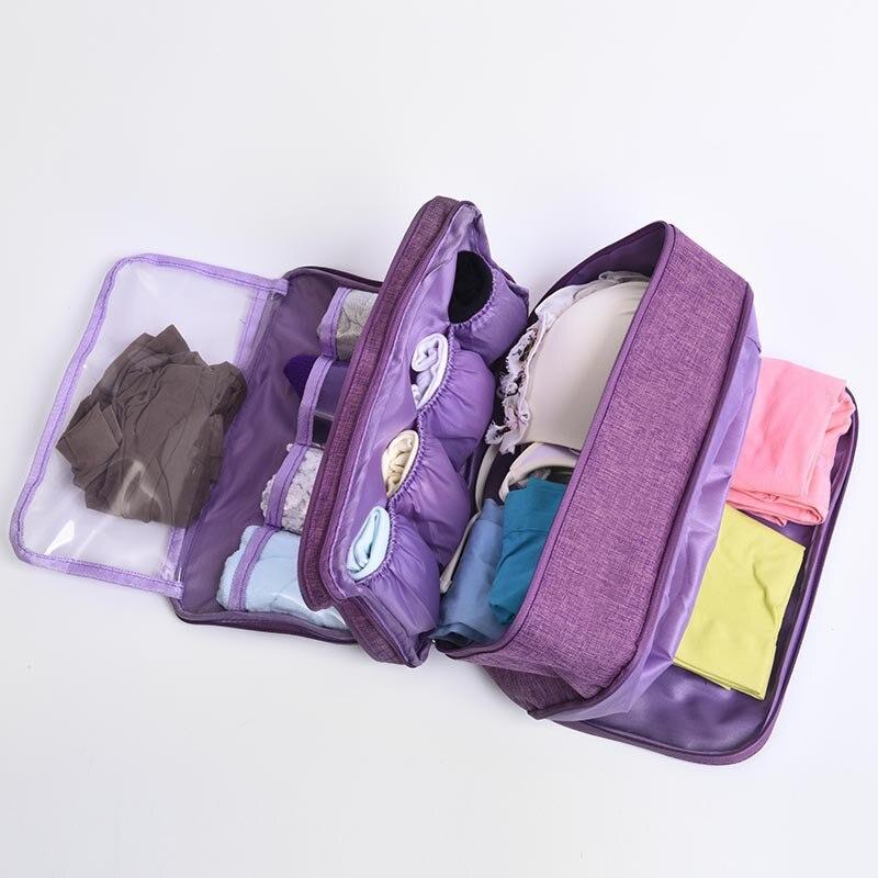 Novo pacote de sutiã coreano roupa interior classificando saco portátil à prova dbeam água feixe boca viagem saco de armazenamento feminino esporte sacos de natação
