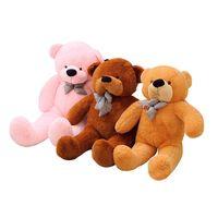 100cm Giant Teddy Bear Plush Toys Stuffed Teddy Cheap Pirce Gifts for Kids Girlfriends Christmas Gifts